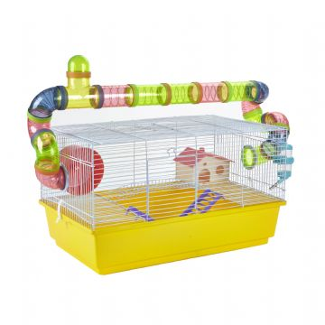 Pet Ting Yellow Lily Rodent Cage